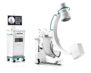 ZIEHM 8000, Τροχήλατο ακτινοσκοπικό μηχάνημα C-arm, παπαποστόλου